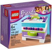 LEGO Friends Storage Box Jewellery Box Set 40266 New in box-2017 RARE