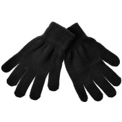Kids Unisex Boys Girls Knitted Thermal Magic Gloves Stretch One Size Fit All Hand Protection Warm Winter Accessories
