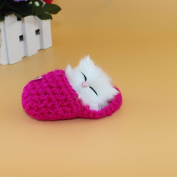 Zooarts 1 Pcs Cute Sleeping Cat Toys with Sound Mini Kittens In Shoes Cute Table Ornament