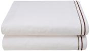 Garnier-Thiebaut Flat Sheet, Copper, Cotton, 240 x 310 cm