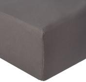 Garnier-Thiebaut, Cotton, Grey, 160 x 200 cm Duvet Cover