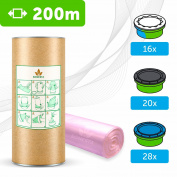 """200m - ECO liner compatible with Tommee Tippee Sangenic 