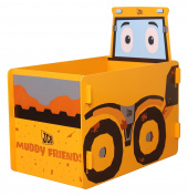Kidsaw, JCB Muddy Friends Toy Box