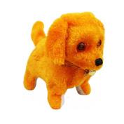 Cute Robotic Intelligent Electronic Walking Pet Dog Robot Puppy Toy Music Flashing Light Kid Gift