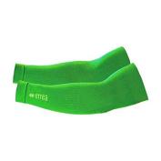 Errea Knik Arm Sleeves, Fluorescent Green, Size L/XL