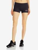 Asics - Womens Low Cut Athletic Shorts, XX-Small, Steel Grey