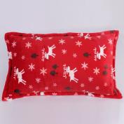 Pillowcases,Pillowcover,[Coral velvet pillowcase] Thick warm winter super soft solid colour flannel pillowcases and coral fleece pillowcase Single cover-L 46x75cm
