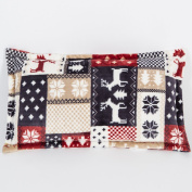 Pillowcases,Pillowcover,[Coral velvet pillowcase] Thick warm winter super soft solid colour flannel pillowcases and coral fleece pillowcase Single cover-I 46x75cm