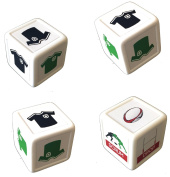 Rugby Dice - play a rugby match everywhere. Board game