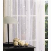 Elemis Net Verona White Size A 90cm x 135cm Drop