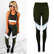 Stylish Women High Waist Sports Gym Yoga Running Fitness Leggings Pants Athletic Trouser Soft elasticity
