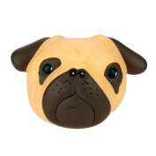 sunnymi® Decompression Toy, Exquisite Fun Crazy Dog Scented Squishy Charm Slow Rising 8cm Simulation Kid Toy