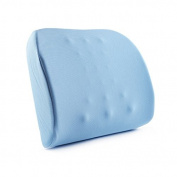 WYQLZ Protect The Waist Cushion Home Office Seat Memory Cotton Back Pad 42*33cm