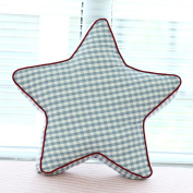WYQLZ Creative Personality Stripe Star Hold Pillow Home Office Sofa Cushion 45cm