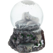 Lisa Parker - Guardian Of The North Snowglobe - White Wolf Snowglobe - Nemesis