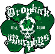 DROPKICK MURPHYS SHAM SKULL, Officially Licenced Original Artwork, Premium Quality, 10cm x 11cm - Sticker DECAL