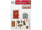 VIP Elf House Wall stickers Door - VIP Elf For Christmas Accessory
