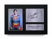 Christopher Reeve Signed A4 Printed Autograph Superman Print Photo Picture Display - Great Gift Idea