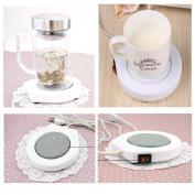 FuSon USB powered Cup Warmer, Heat Insulation Coffee Cup Mug Mat,Tea Mug Warmer,Office Tea Warmer,Beverage Warmer
