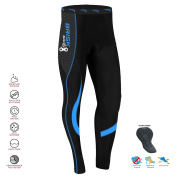 Mens Cycling Tights Thermal Legging Bicyle Cycle Pant Trouser Coolmax Padded ✓ Italian Fabric ✓Fast Delivery ✓ Easy Returns