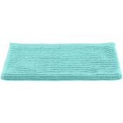 Guest Towel 30x50 cm 550 g/m² Cotton Jacquard Linio, turquoise blue, 30x50