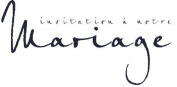Artemio Type E Text Invitation Notre Mariage Wooden Stamp
