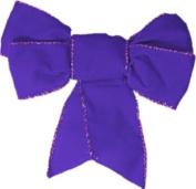 40 decorative bows envelope seal stickers - purple
