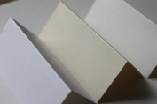100 Blank Table/Place cards for weddings/partys etc