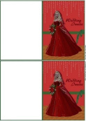 Christmas Wedding Invite by Annette Crossley