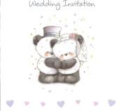 10 Luxury Wedding Day Card Invites Invitations & Envelopes Cute