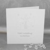 Pearl Wedding Anniversary Invitations - Pack of 5