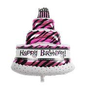 Balloon Decorative Birthday Cake