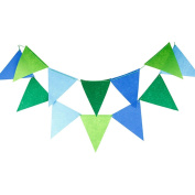 Outflower 3 Metres 12 Flags Pennants Bunting Banner for Home Decor Xmas Wedding Party