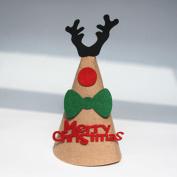 Merry Christmas Home Decoration,VENMO DIY Christmas Santa Hat Caps Decoration Props Festival Deer Caps Party Favour Crafts