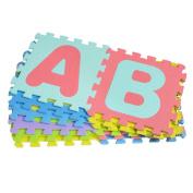 BESTOMZ 26 Alphabet EVA Play Mat Educational Soft Foam Puzzle Jigsaw Baby Kids Toy Gift