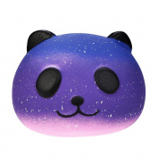 erthome Galaxy Cute 10cm Panda Baby Cream Scented Squishy Slow Rising Squeeze Kids Toy Fun