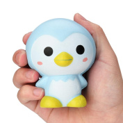 Cebbay Squeeze Toy, 1 PC Cartoon Penguin Elastic Environmentally PU Slow Rising Scented Pressure Relief Toys - 9 CM