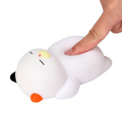 Cebbay 1 pcs 12cm Cute Lazy Sleeping Cat Squeeze Slow Rising Pressure Relief Toys