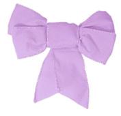 40 decorative ribbon envelope seal wedding stickers - lilac