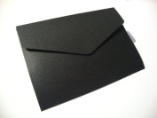 A5 Pearlescent Pocketfold Blank Wedding Invites/Wedding Wallets/A5 Card - with plain white 100gsm envelopes