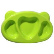 [petinube] Dish with Silicone comparticiones