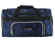 Sport Duffel Bag Fitness Gym Bag Luggage Travel Bag Sports Equipment Gear Bag, Blue