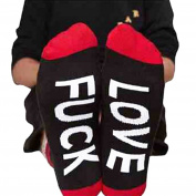 ESHOO Fuck-off Funny Socks Casual Sports Cotton Socks For Women and Men