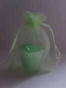 20 LIGHT GREEN Organza Wedding Favour Bags (10cm x 15cm) Ideal Weddings~Engagement~Anniversaries~ Celebrations