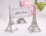 E-Meoly Place Card Holder Eiffel Tower Style Card Clamp Stand Table Note Memo Picture Photo Name Card Clip Holder for Lawn Wedding Party Favour Deco Set of 5pcs