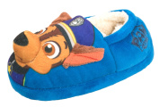 Paw Patrol Chase Character Slippers - Fleece Lining
