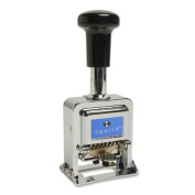 Sparco Self-Inked 6 Wheels Automatic Numbering Machine SPR80067