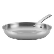 Ayesha Curry Home Collection Stainless Steel Skillet, 32cm