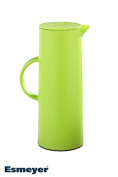 Esmeyer 086 Manhattan Vacuum Jug, 1 Litre, Plastic, green, 11 x 11 x 29 cm