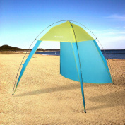 Single Layer Open Portable Fishing Beach Sunscreen Tent Portable Carry Bag Waterproof CEAER